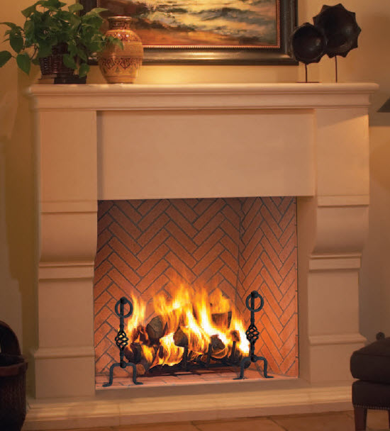 Pre Fab Wood Burning Fireplaces St Louis