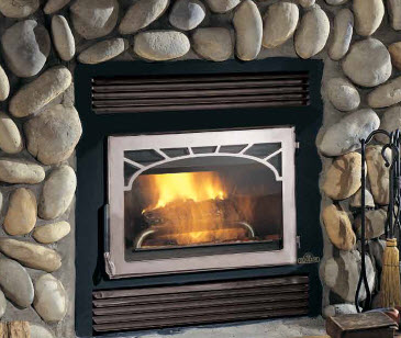 High Efficiency Wood Burning Fireplaces