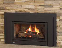 Vented Gas Fireplace Inserts Louis